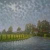 Hollandse ijssel o o l 80x80cm2015