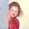 Portret van luna o o l 30x30cm 2005
