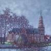IJsselstein N.H. Kerk  o o p 20x20 cm 2017